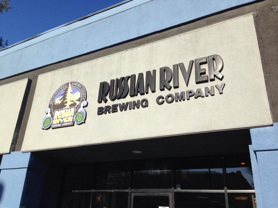Russian River Brewing. Santa Rosa, CA