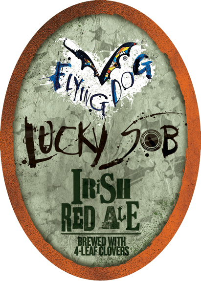Flying Dog Lucky S O B Brewed With Real Clover Leafs