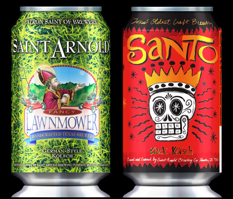 Saint Arnold Cans