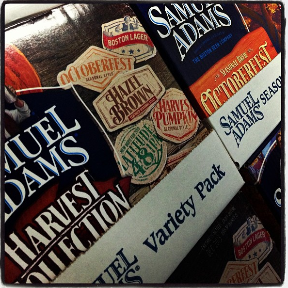 Sam Adams Fall Sampler 2013