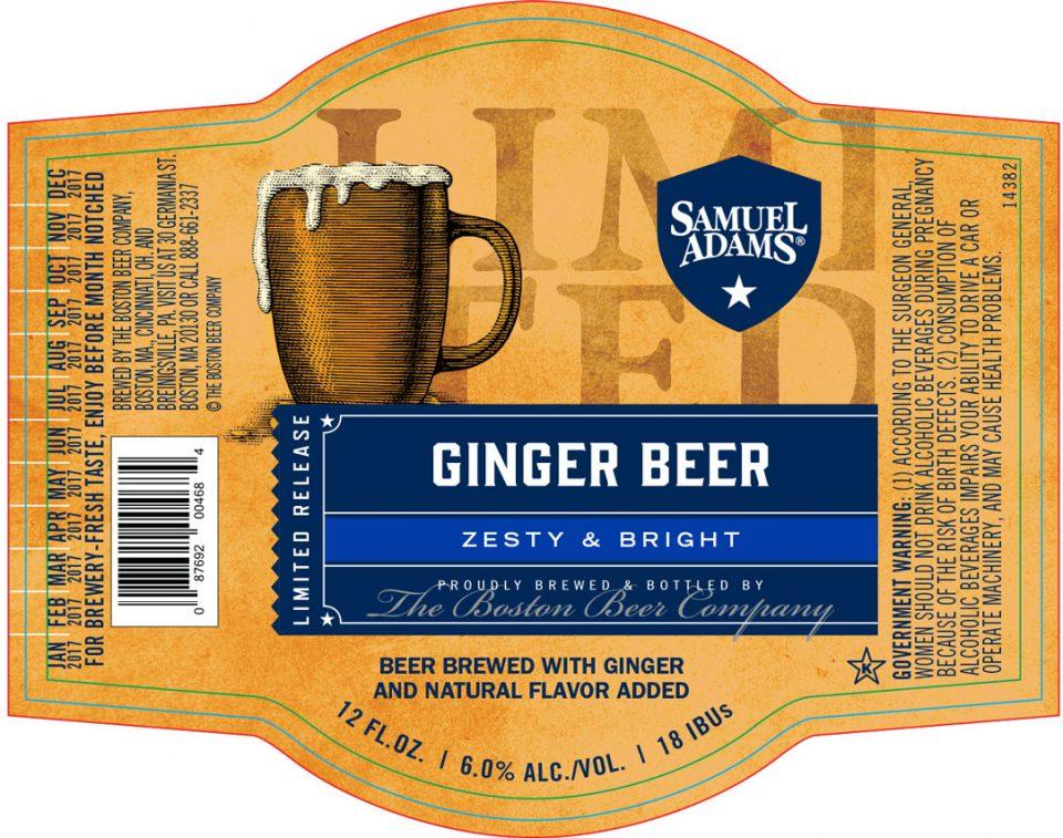 Sam Adams Ginger Beer