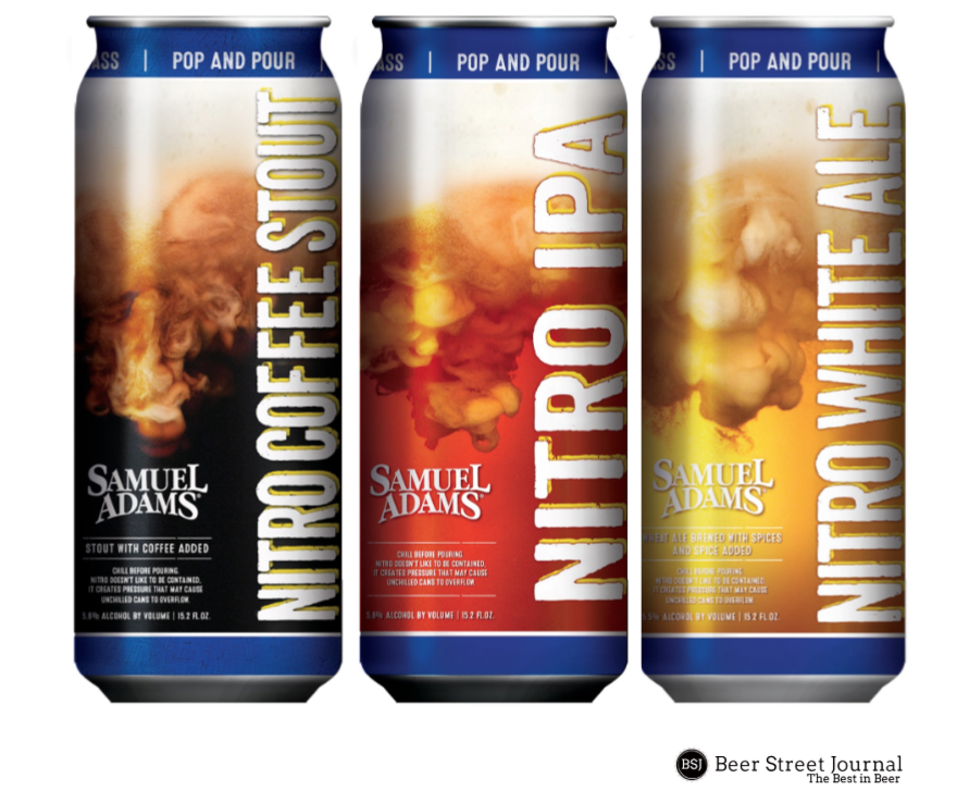 Sam Adams Nitro Cans