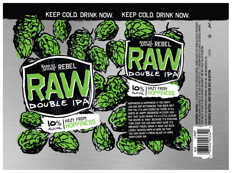 Samuel Adams Rebel Raw Double IPA