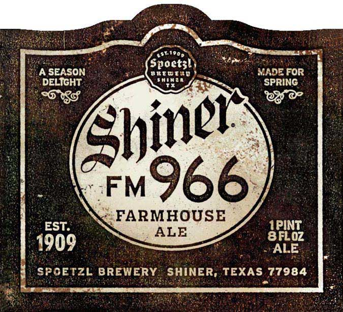 A Shiner Farmhouse Ale ing This Spring Beer Street Journal