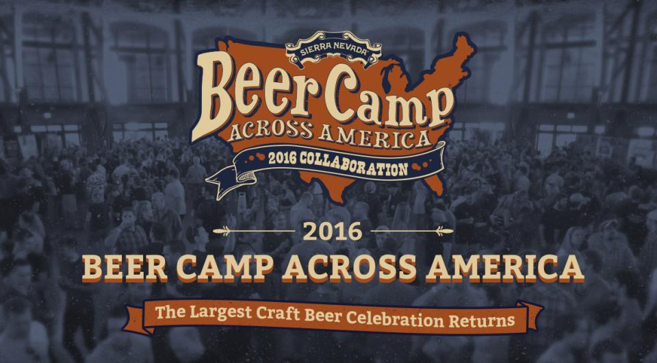 Sierra Nevada Beer Camp America 2016