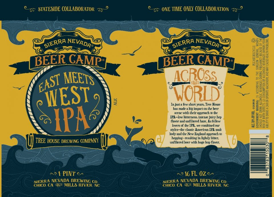 Sierra Nevada Beer Camp East Meets West IPA