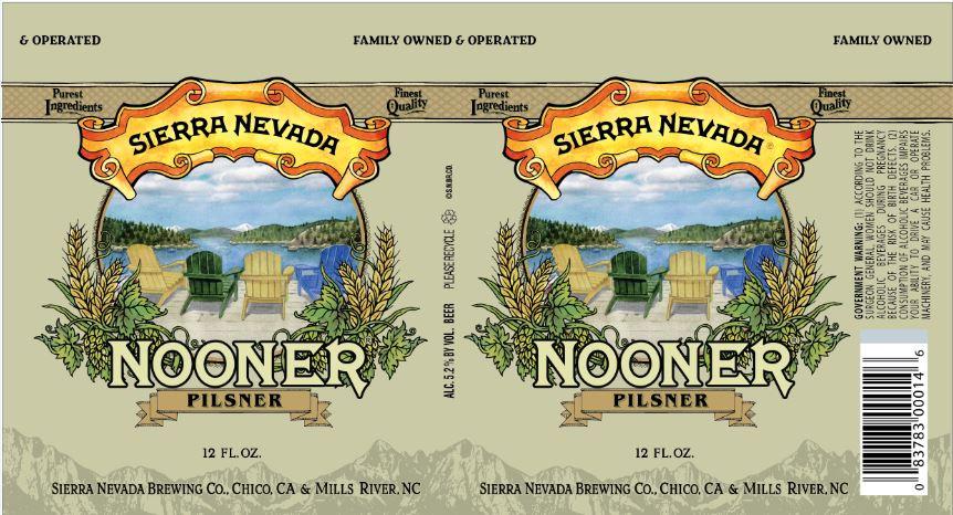 Sierra Nevada Nooner Pilsner Cans