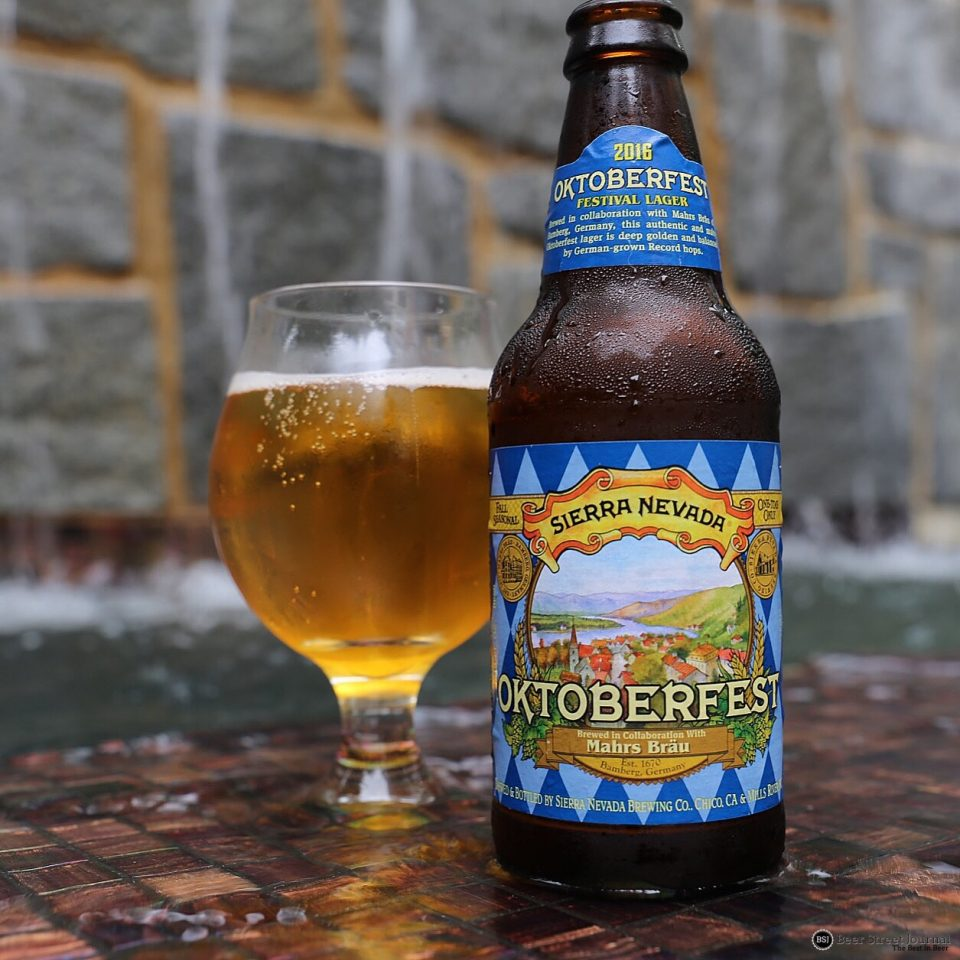 Sierra Nevada Oktoberfest 2016 bottle