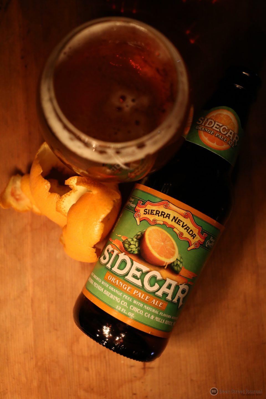 Sierra Nevada Sidecar Orange Pale Ale bottle