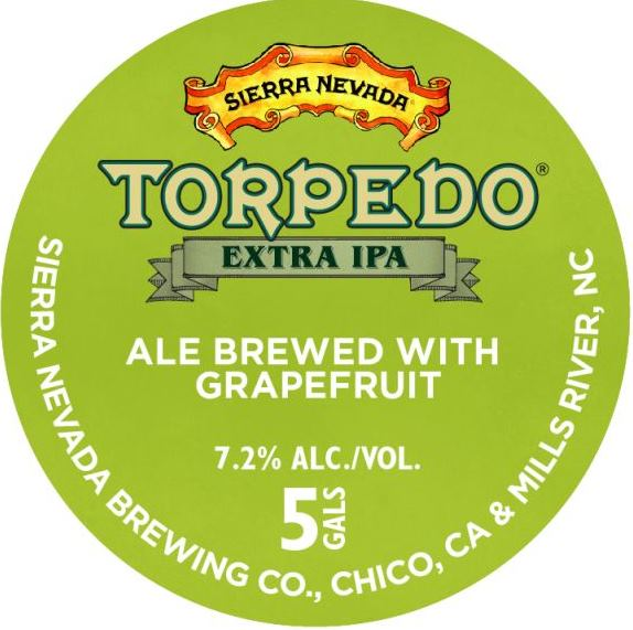 Sierra Nevada Torpedo Extra IPA Grapefruit