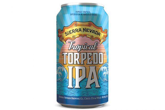 Sierra Nevada Tropical Torpedo IPA cans