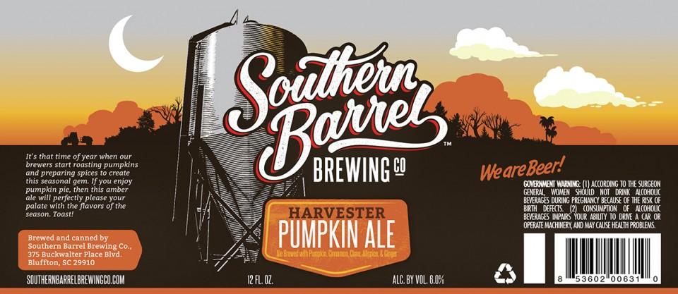 Southern Barrel Harvester Pumpkin Ale