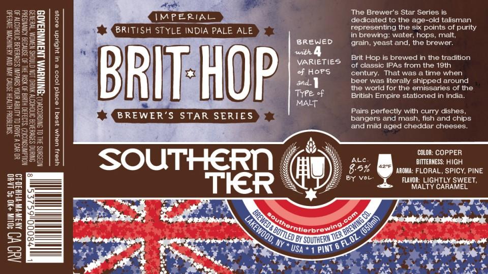 Southern Tier Brit Hop