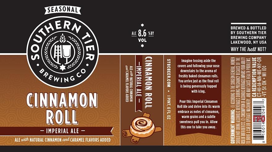 Southern Tier Cinnamon Roll
