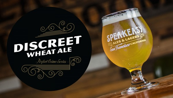 Speakeasy Discreet Wheat Ale