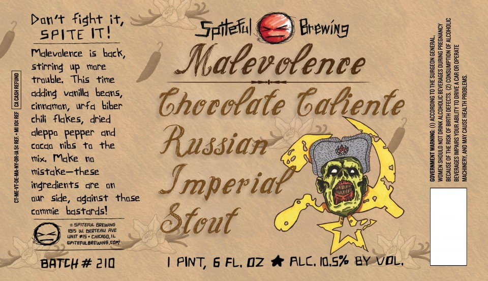 Spiteful Brewing Malevolence