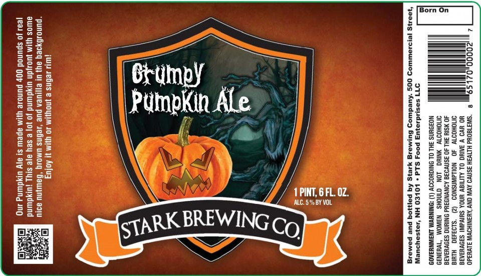 Stark Brewing Grumpy Pumpkin Ale