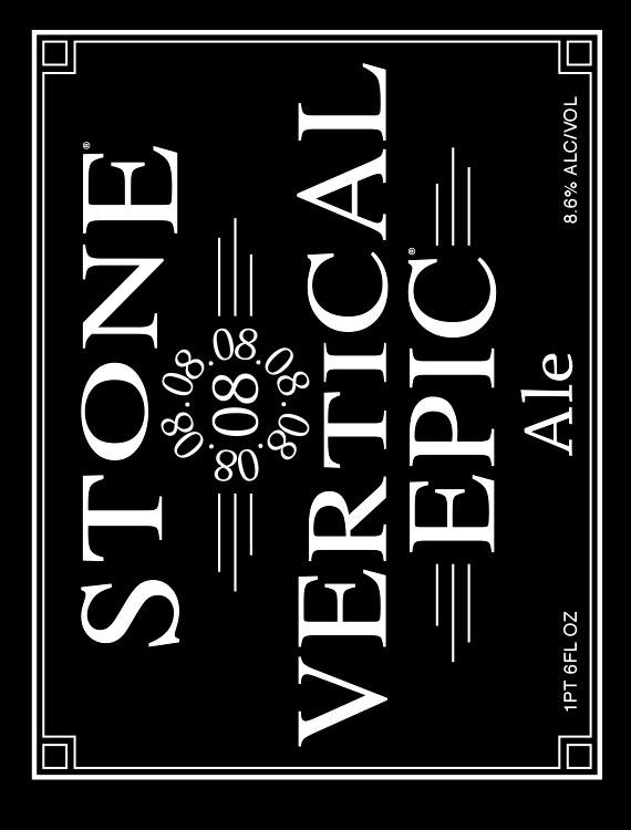 Stone 08.08.08 Vertical Epic Ale