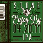 Stone Enjoy By IPA 4.20