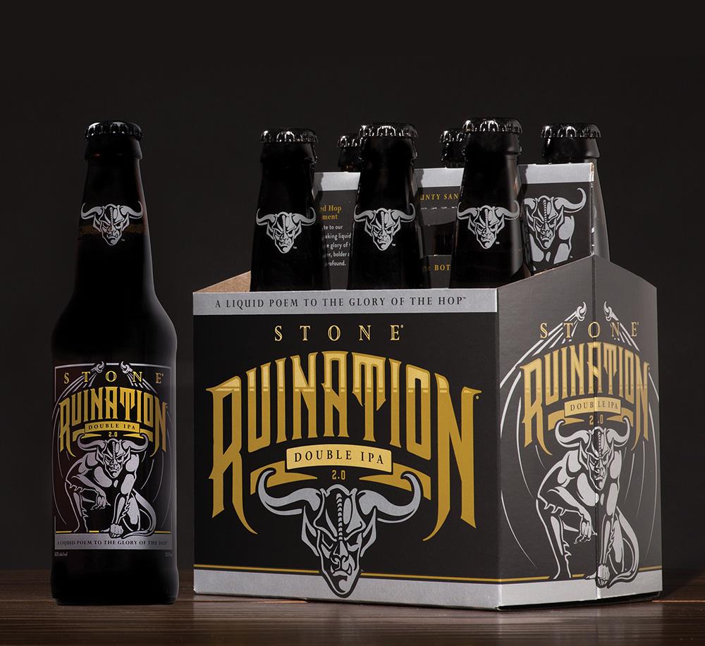 Stone Levitation Ale : Stone ruination double ipa