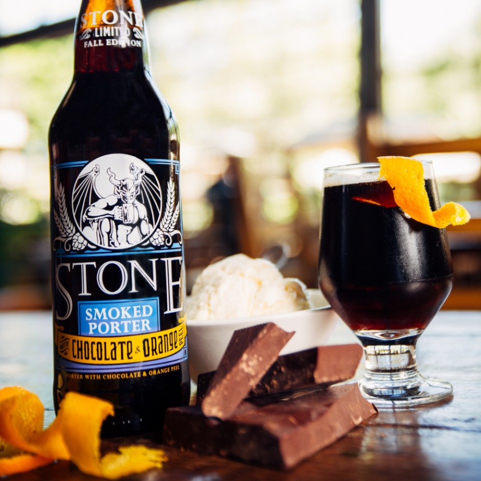 Stone Smoked Porter Chocolate Orange