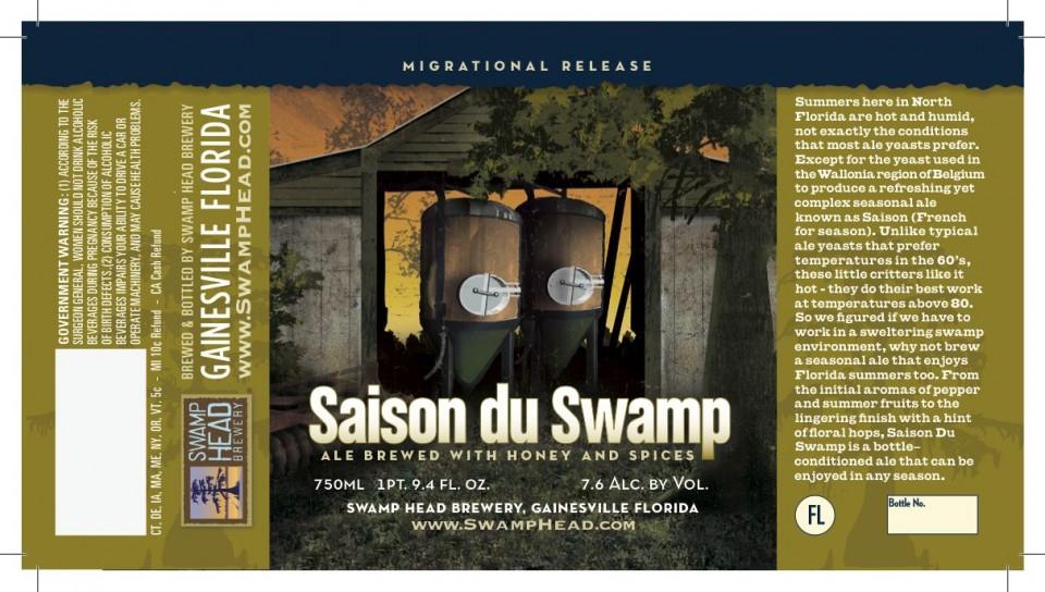 Swamphead Saison Du Swamp
