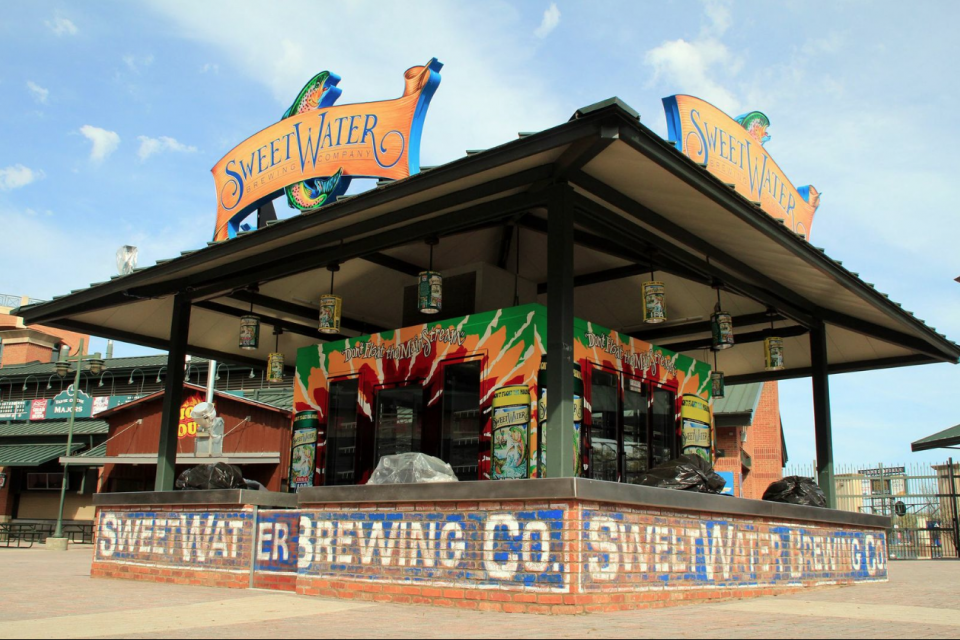 SweetWater Beer Island
