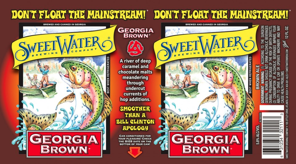 SweetWater Georgia Brown Cans
