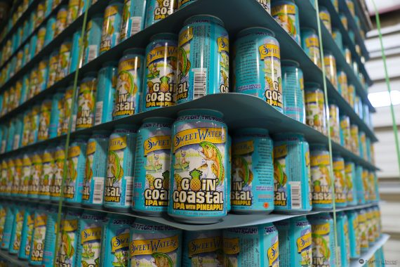 SweetWater Goin' Coastal can stack
