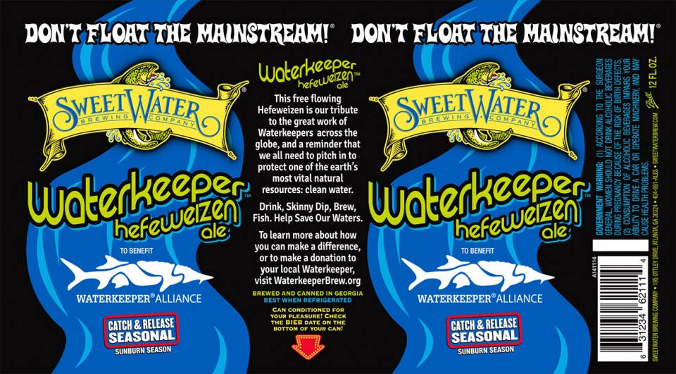 SweetWater Waterkeeper Cans