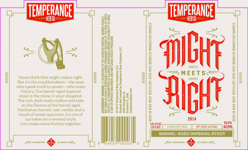 Temperance Beer Co. Might Meets Right