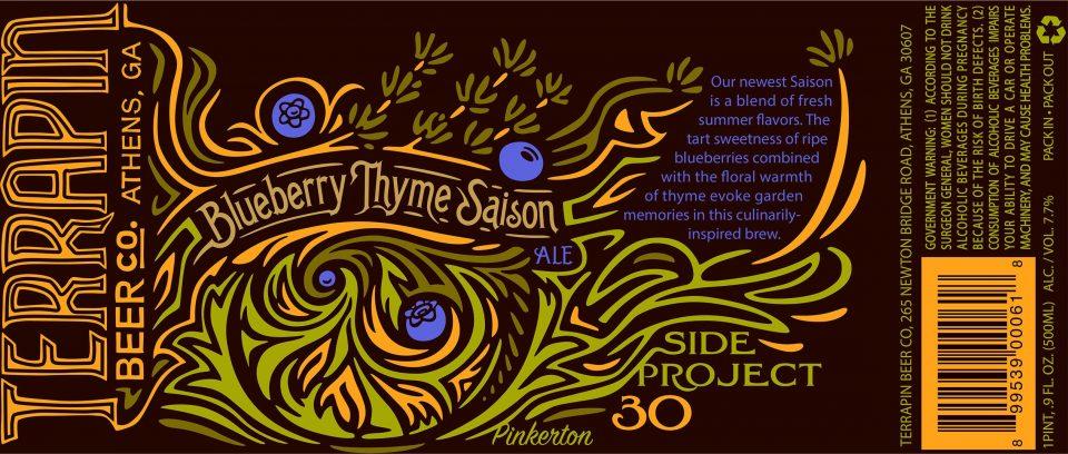 Terrapin Blueberry Thyme Saison