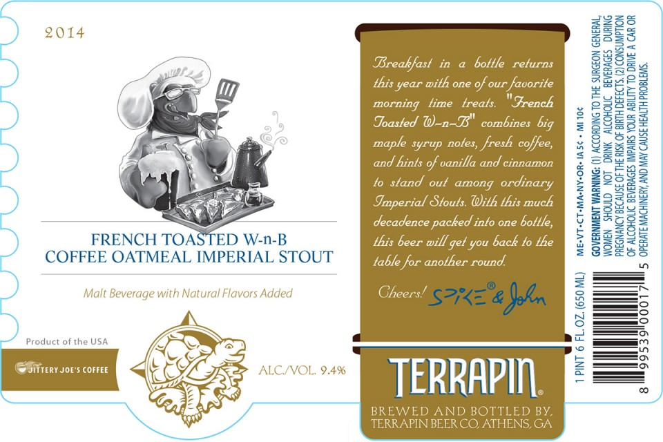 Terrapin French Toasted W-n-B