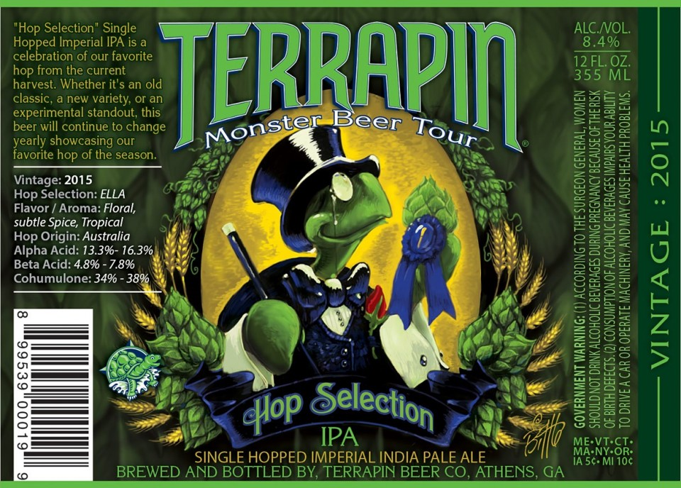 Terrapin Hop Selection IPA