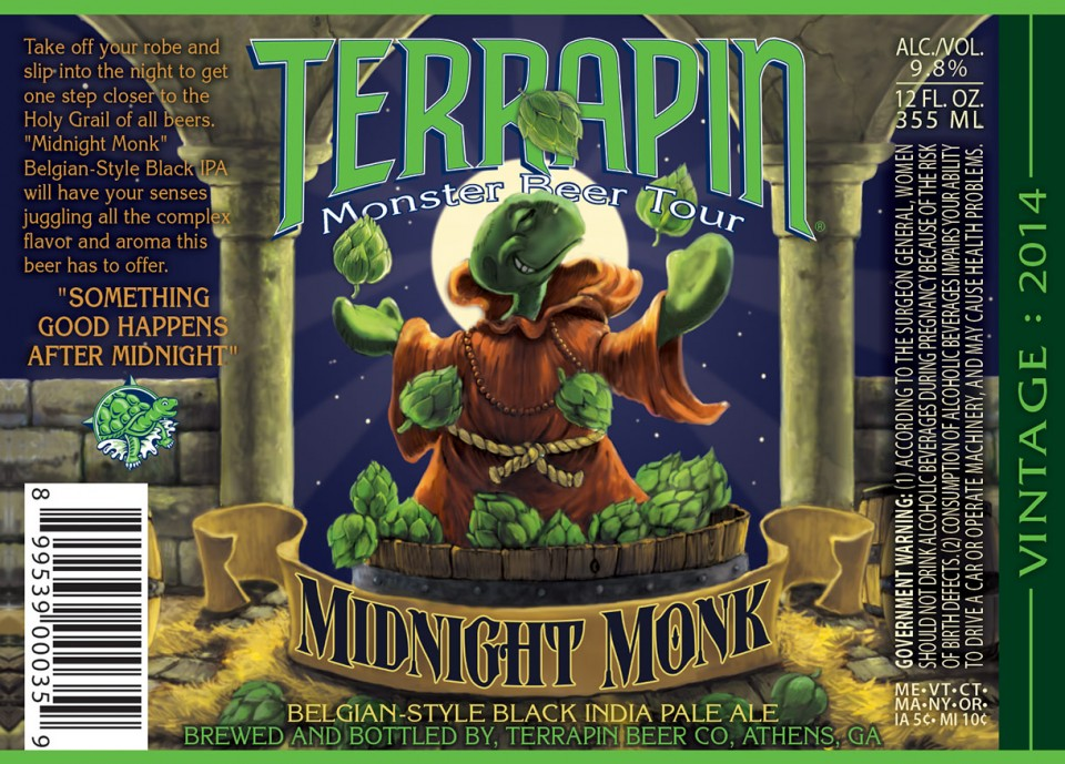 Terrapin Midnight Monk Black India Pale Ale