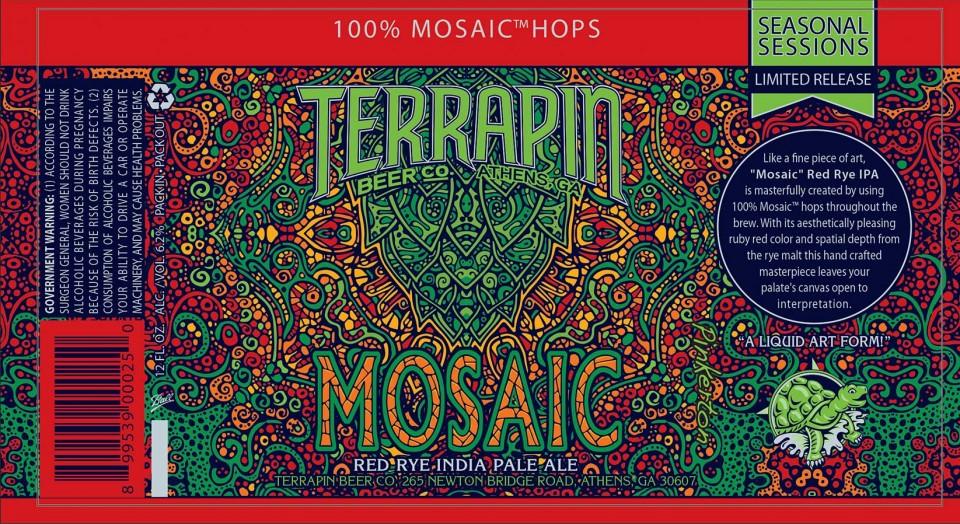 Terrapin Mosaic Cans