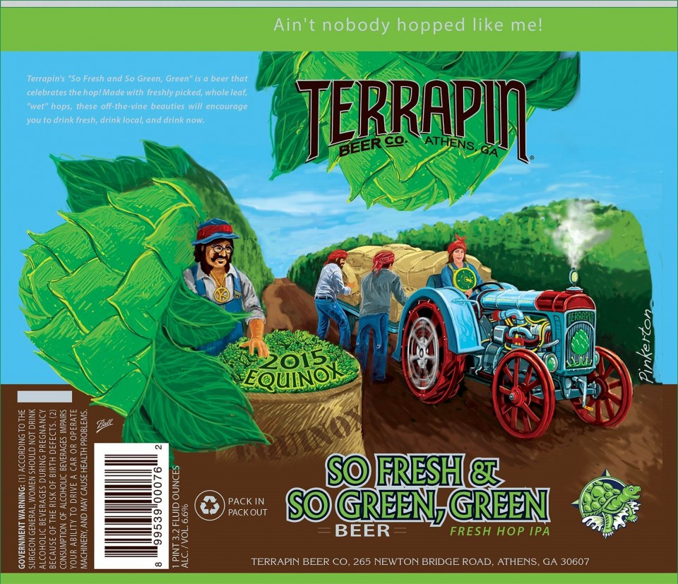 Terrapin So Fresh & So Green, Green 2015