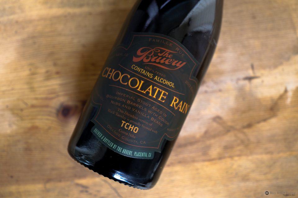The Bruery Chocolate Rain bottle