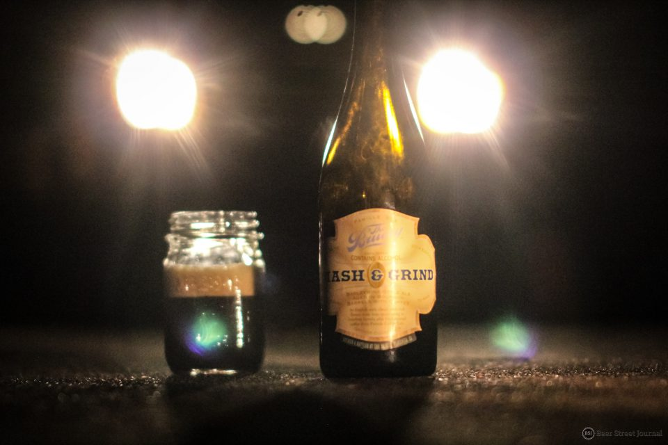 The Bruery Mash & Grind bottle
