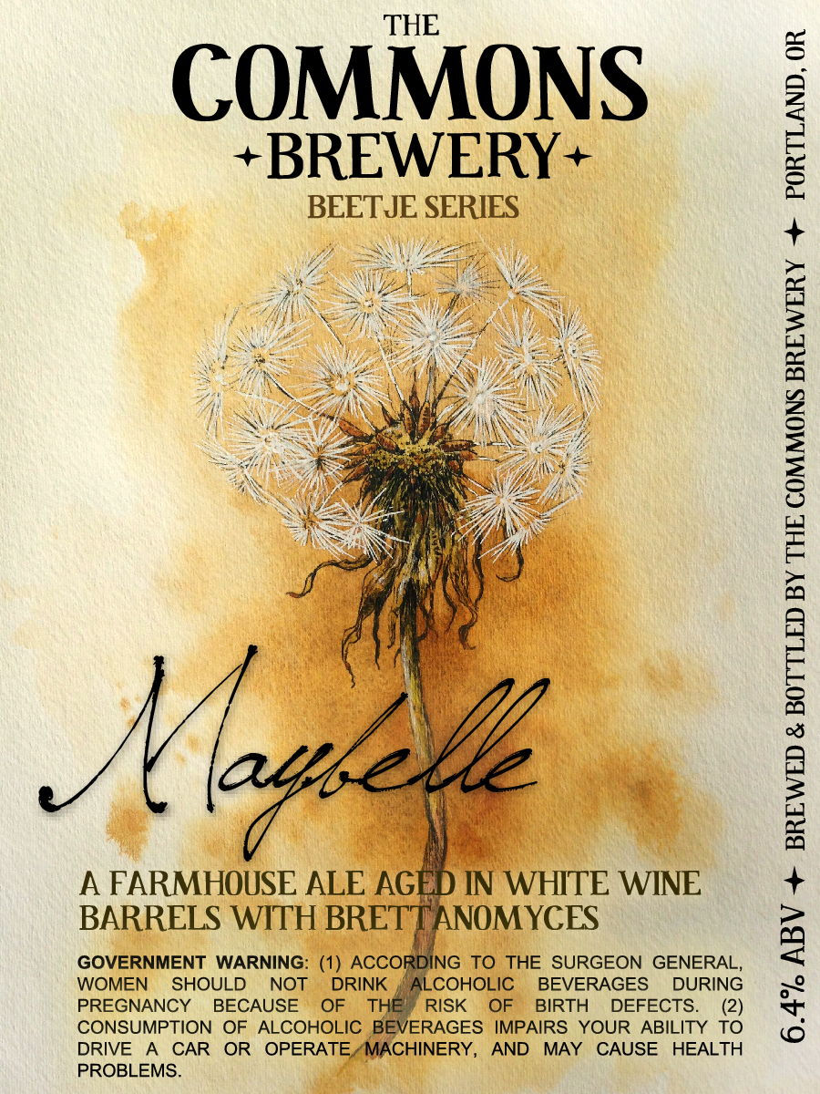 The Commons Brewery Maybelle Farmhouse Ale