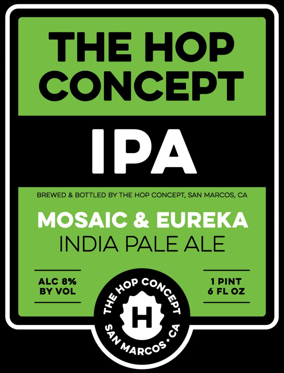 The Hop Concept Mosaic and Eureka