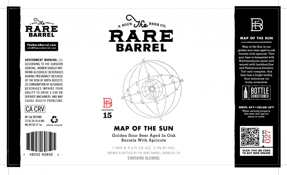 The Rare Barrel Map of the Sun