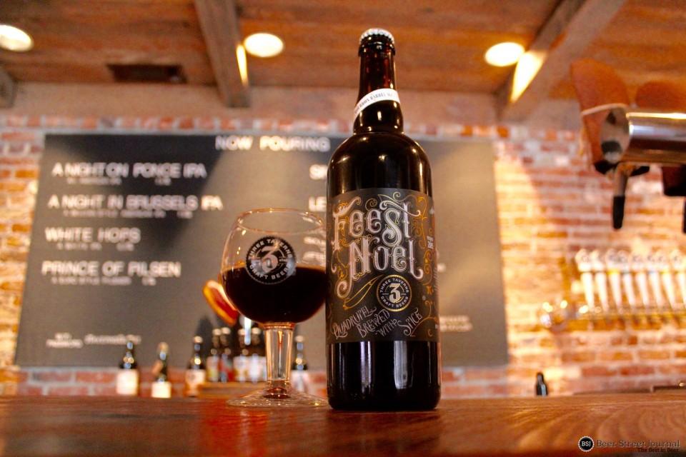 Three Taverns Bourbon Barrel Feest Noel bottle
