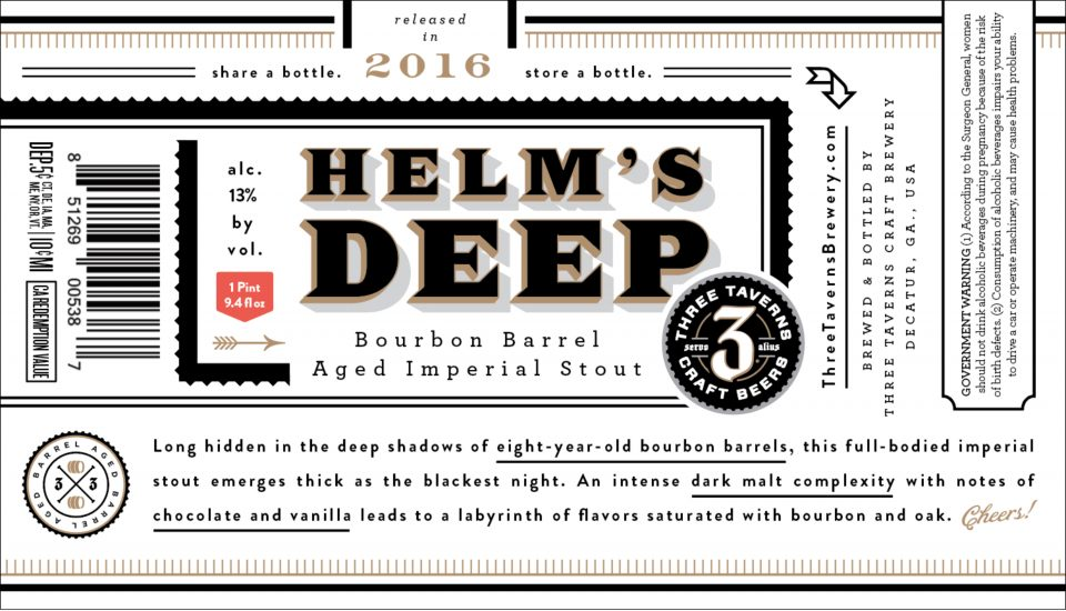 Three Taverns Helm's Deep