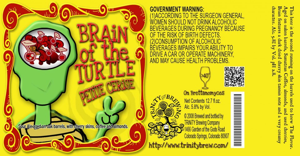 Trinity Brewing Brain of the Turtle Petite Cerise
