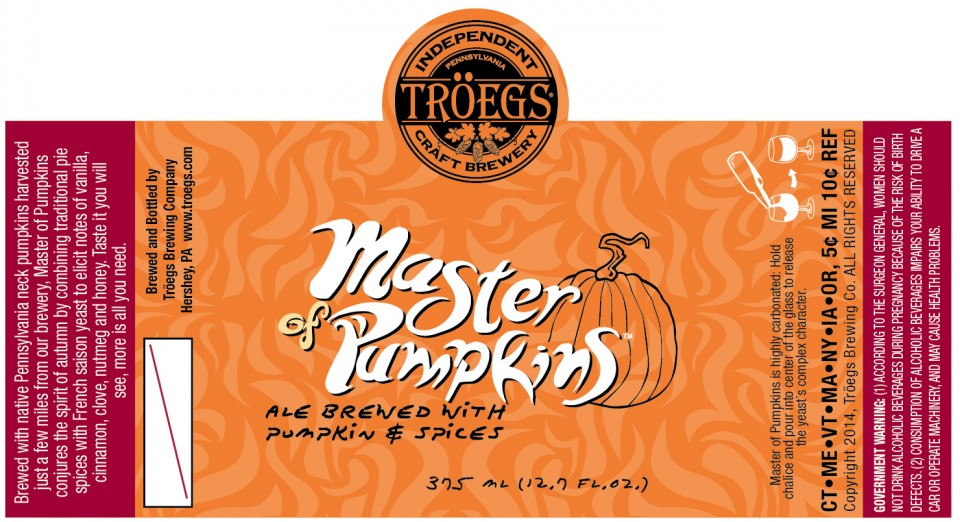 Troegs Master of Pumpkins