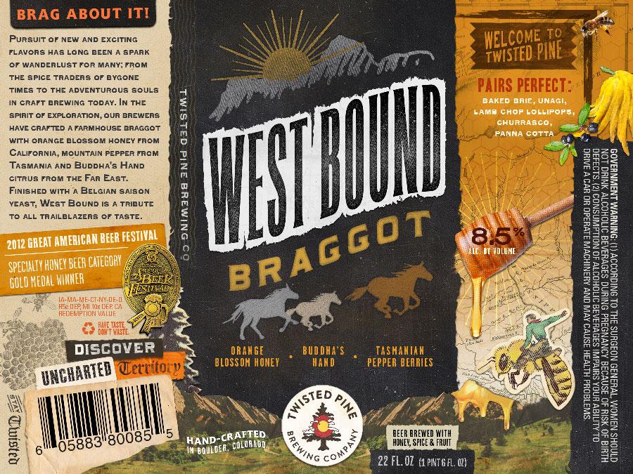 Twisted Pine Westbound Braggot