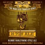 Two Roads 20 Ton Ale