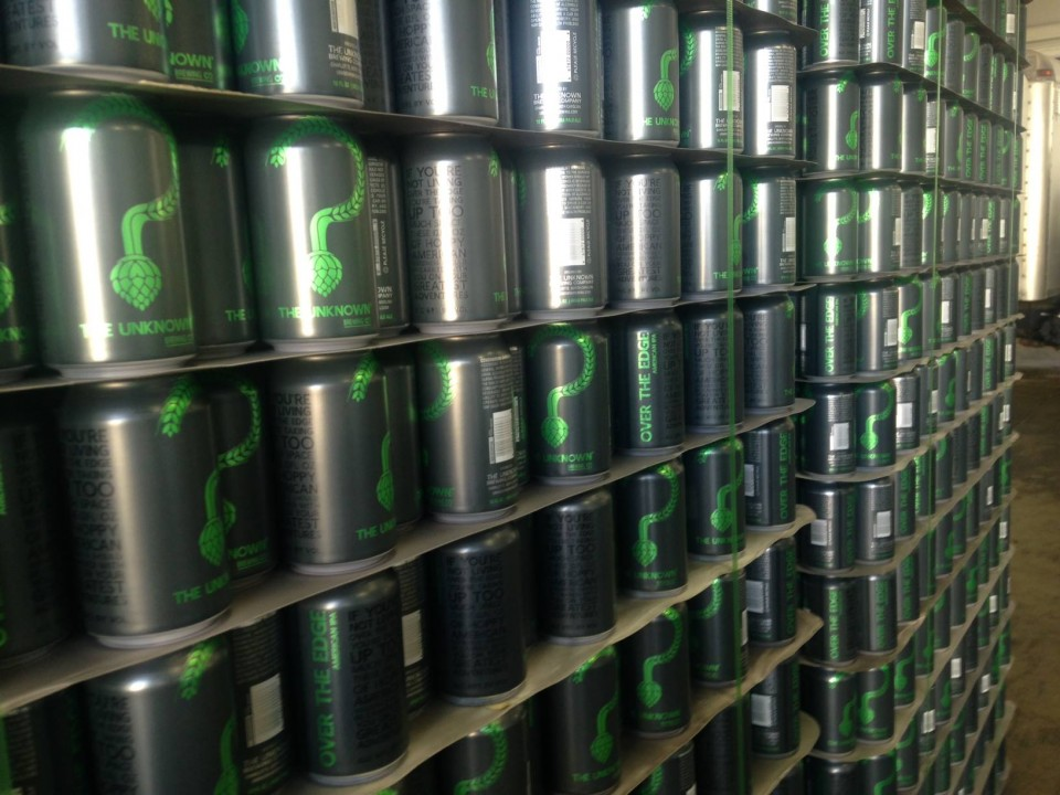 Unknown Brewing Cans