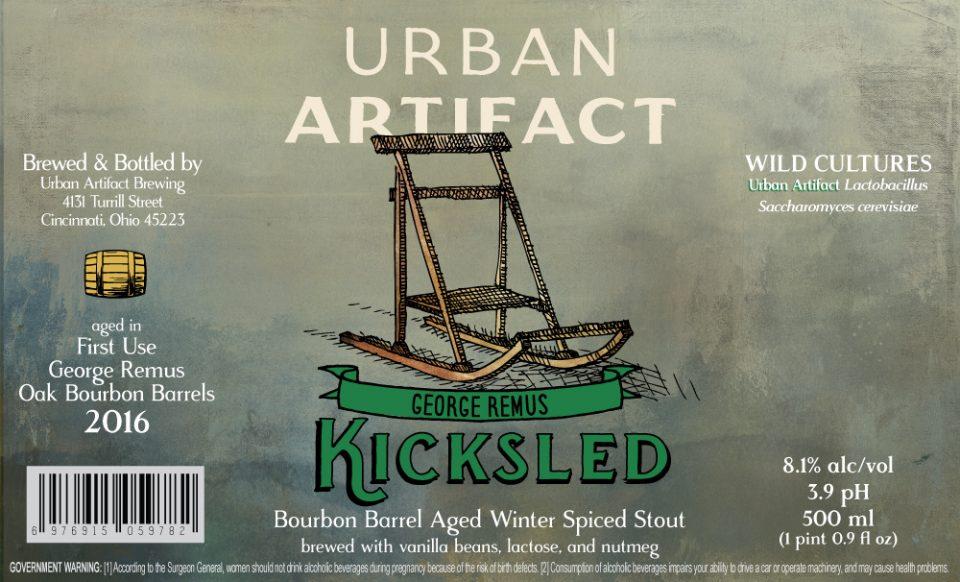 Urban Artifact Kicksled